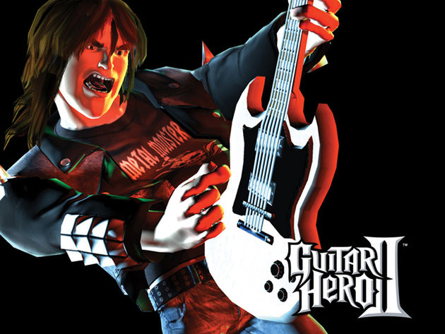 Guitar Hero. It's a game. Remember!