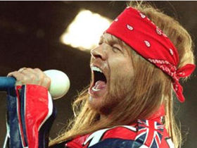 Axl Rose sues Dr Pepper over Guns N' Roses giveaway