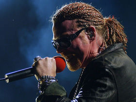 Guns N' Roses play to half-full NYC club