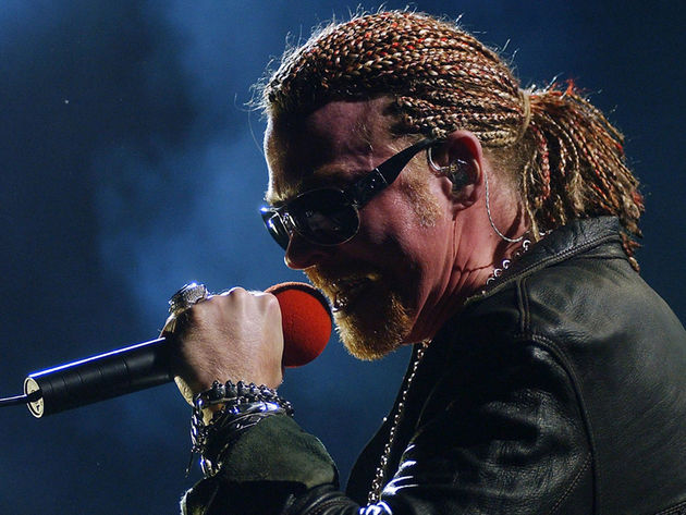Does Axl Rose have 'Seoul'? Hard to tell