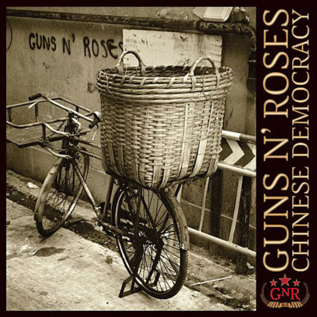 Guns N' Roses' Chinese Democracy. Yes, it's real.
