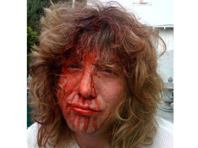 Steven Adler gets his head drilled!