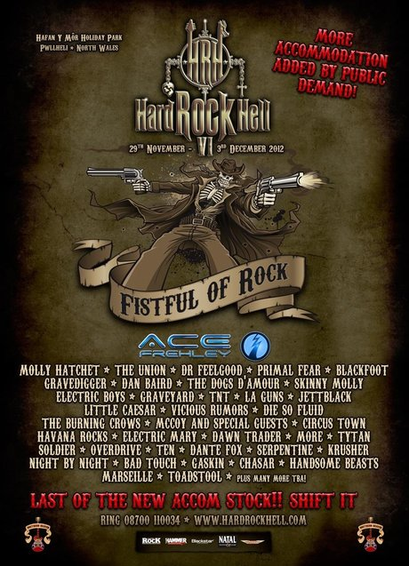 Hard rock hell vi poster