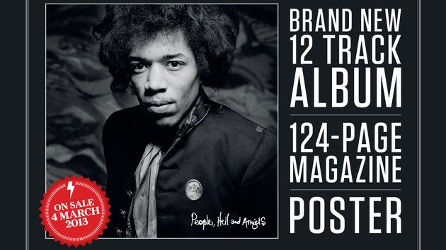 Classic Rock Presents Jimi Hendrix - People, Hell and Angels features 12 previously unreleased tracks
