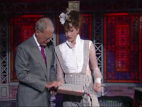 Imogen Heap plays Monome on Letterman show