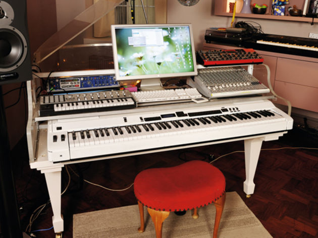 in pictures imogen heap 39 s amazing home studio the live rig guitar news musicradar. Black Bedroom Furniture Sets. Home Design Ideas