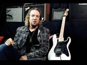 VIDEO: Adrian Smith on his new signature Jackson SDX guitar