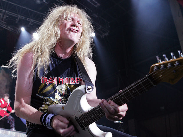Despite embarking on 'The Final Frontier,' guitarist Janick Gers says Iron Maiden won't be packing it in anytime soon