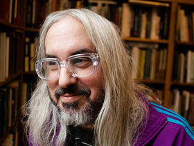 J Mascis shows off his home studio