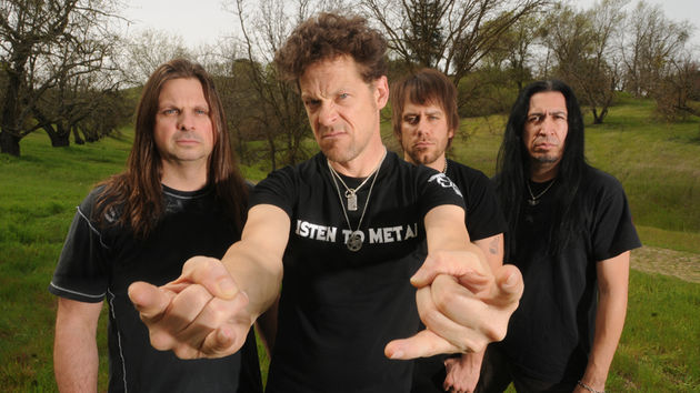 Jason Newsted promises major metal goodness with his new band, Newsted. (from left) Mike Mushok, Newsted, Jesse Farnsworth, Jesus Mendez Jr.