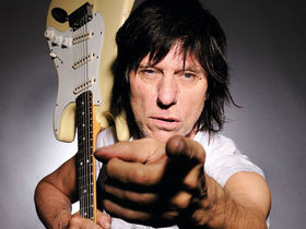 VIDEO: Jeff Beck talks through his guitar collection