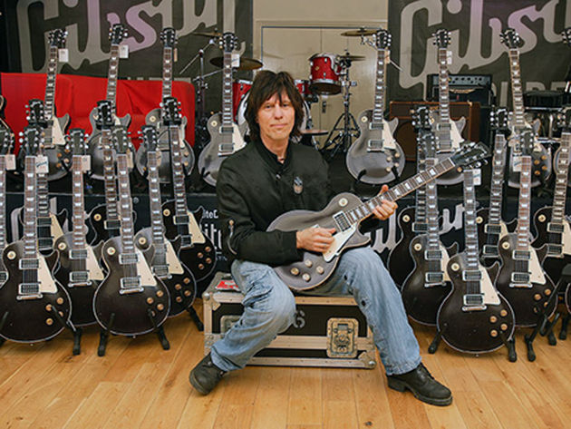 Jeff Beck and his signature 1954 Les Pauls