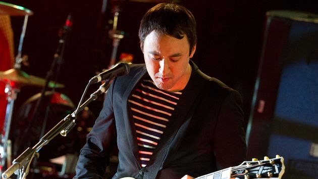 "Incorporating his guitar style into The Smashing Pumpkins ""took some doing,"" says Jeff Schroeder."