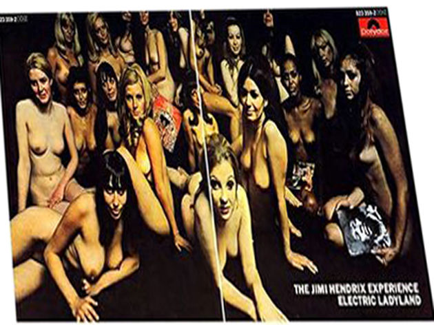 Electric Ladyland has been voted Jimi Hendrix's greatest album