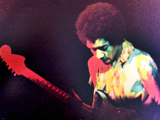 Jimi with Stratocaster: an iconic combination