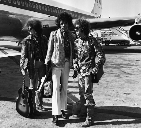 Jimi hendrix at london airport