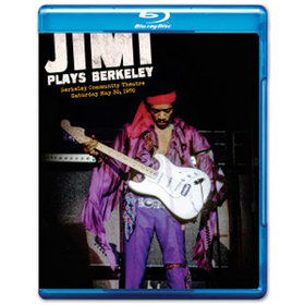 Jimi hendrix 1970 berkeley film for dvd/blu-ray
