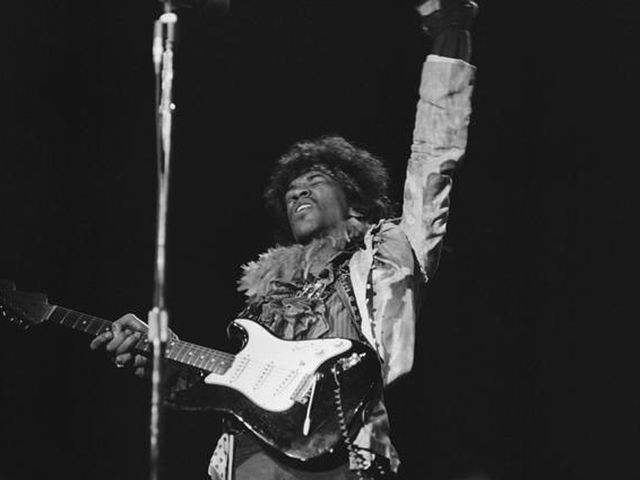 Jimi at Monterey Pop, 1967