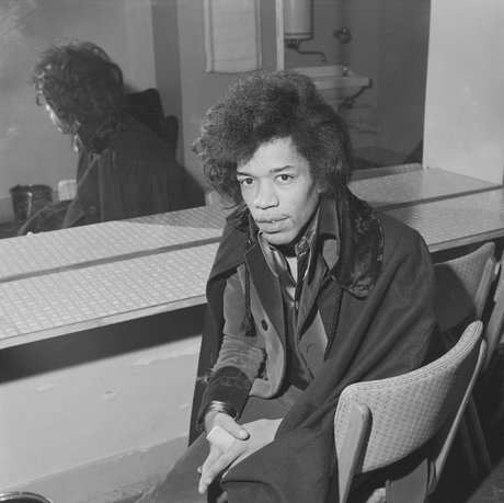 Jimi hendrix in london 1966