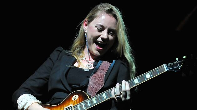 "Blues-rock sensation Joanne Shaw Taylor says that her new live album ""sums up the first part my career."""