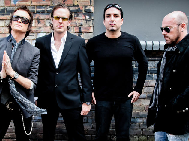 BCC from L-R: Glenn Hughes, Joe Bonamassa, Derek Sherinian and Jason Bonham