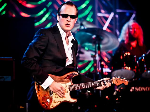 Two sold-out shows...Rory Gallagher's Strat...Joe Bonamassa is on top of the world