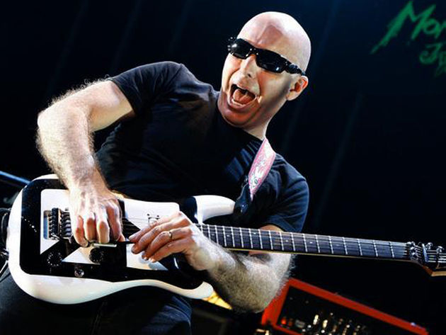 For Satriani, Hendrix's death was a rebirth - his own
