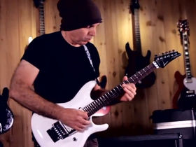 VIDEO EXCLUSIVE: See Joe Satriani perform Flying In A Blue Dream live