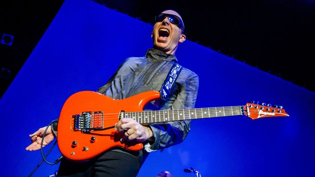 Joe Satriani recounts his music-making life in Strange Beautiful Music