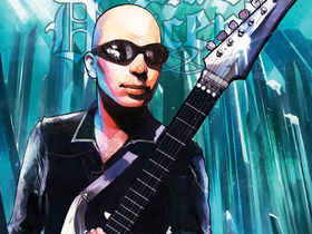 Joe Satriani becomes a comic book hero in Eternal Descent