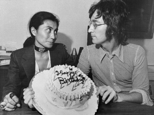 John and Yoko, before the 'Lost Weekend'