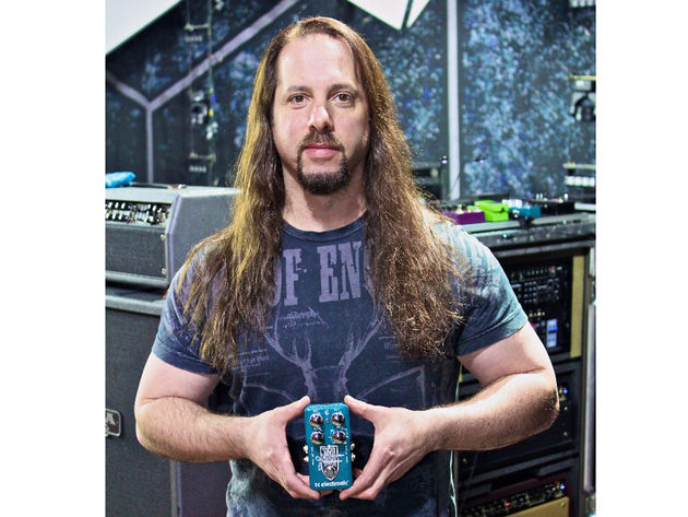 You might not be able to play like John Petrucci, but now you can get his sound
