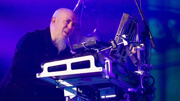 """So much of what goes into this involves lots of pre-production at home,"" says Rudess of his tour rehearsal process."