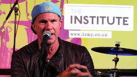 Chad Smith's surprise visit to The Institute