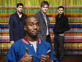 Kanye West visits Keane, blows up mixing desk