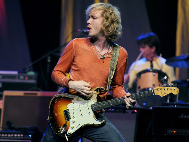 Kenny Wayne Shepherd, pictured with his trusty '61 Strat, releases his new album, How I Go, on 2 August