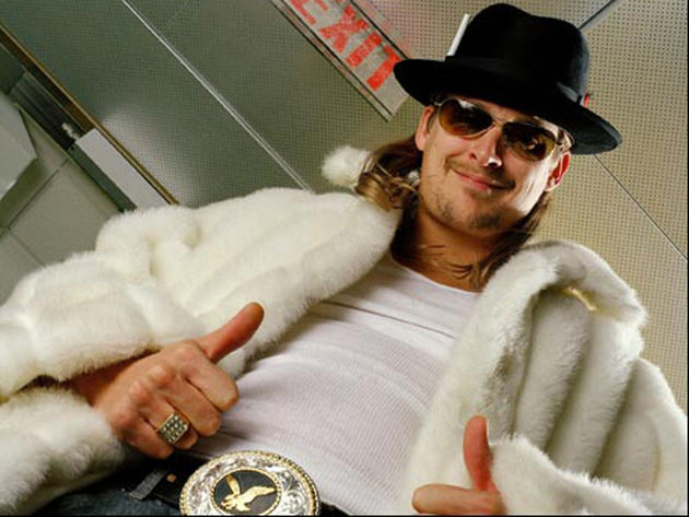 Kid Rock loves baseball and beer. Big-time!