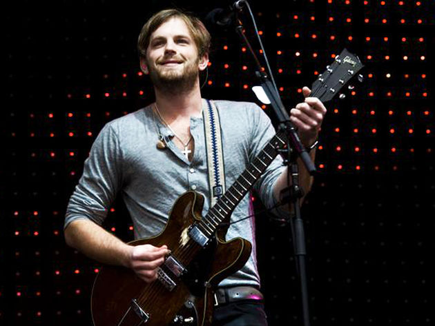 KOL frontman Caleb Followill on stage in Australia