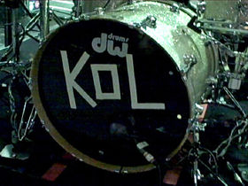 VIDEO: Kings Of Leon's lo-fi bass drum logo explained!
