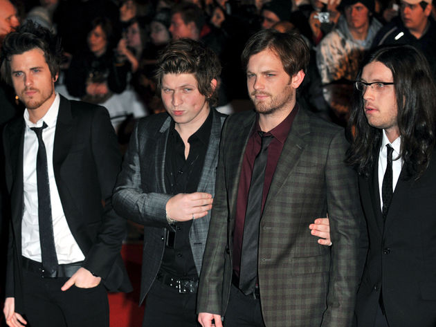 Kings Of Leon are the UK's digital sales champs. No wonder they can afford fine threads