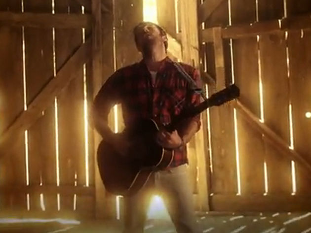 Caleb Followill is Radioactive...in a barn. Go figure!