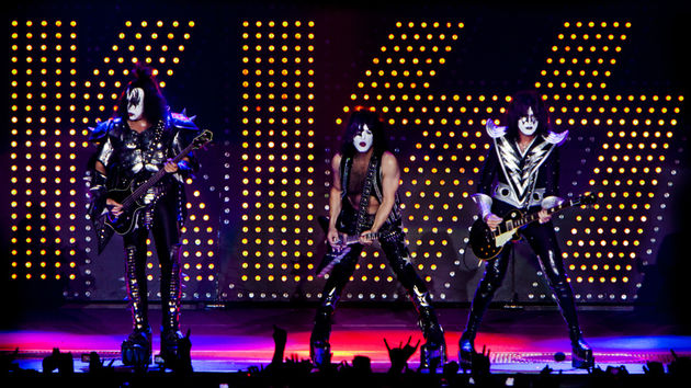KISS performing live at the Dutch Forum, Milan, May 2010