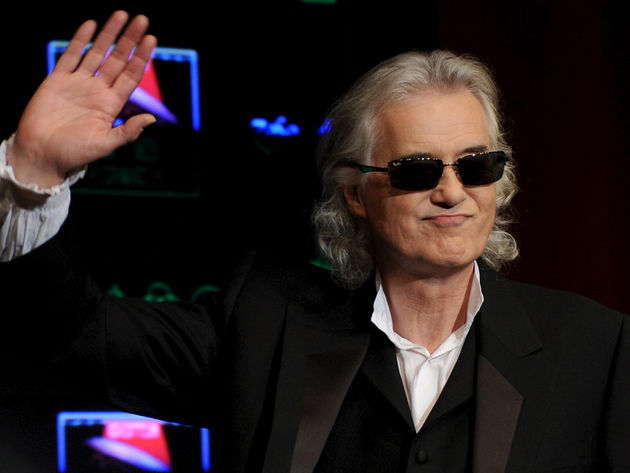 Jimmy Page says he's no guitar hero. And the world disagrees