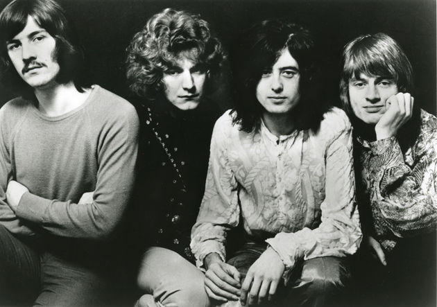 "Zeppelin, with ""decent guy"" John Bonham pictured left"