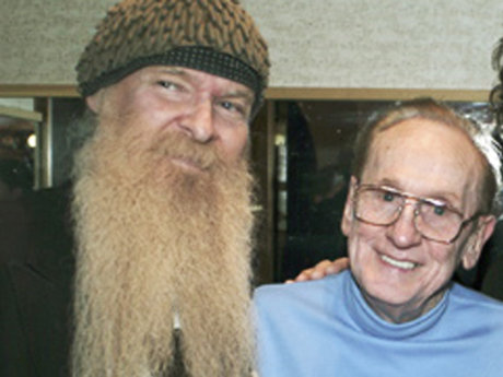 Billy gibbons and les paul