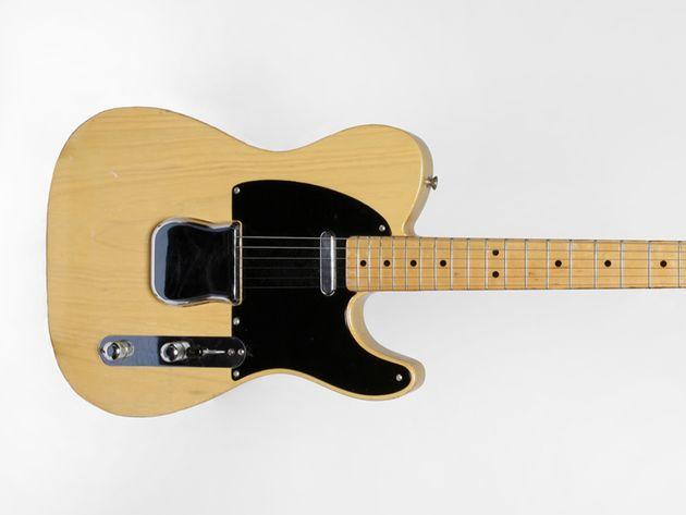 1951 Fender Nocaster serial number 1751