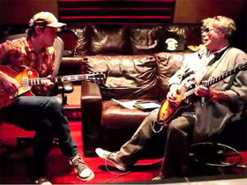 VIDEO: See Leslie West and Joe Bonamassa trade guitar licks