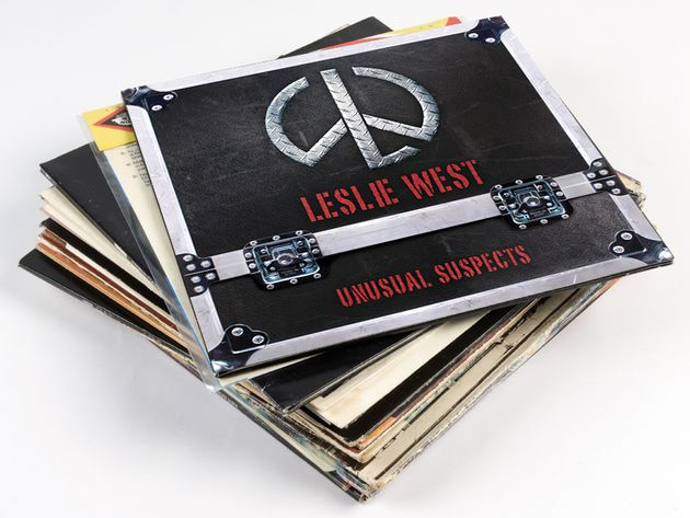 Leslie West's Unusual Suspects: full album preview