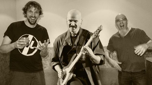 Marco Minnemann, Tony Levin and Jordan Rudess kick out the jams on their riotous debut album
