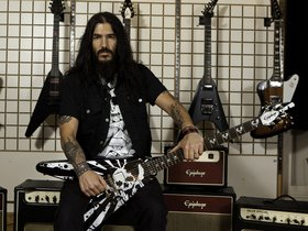 Design robb flynn's epiphone decal and win a signed flying v